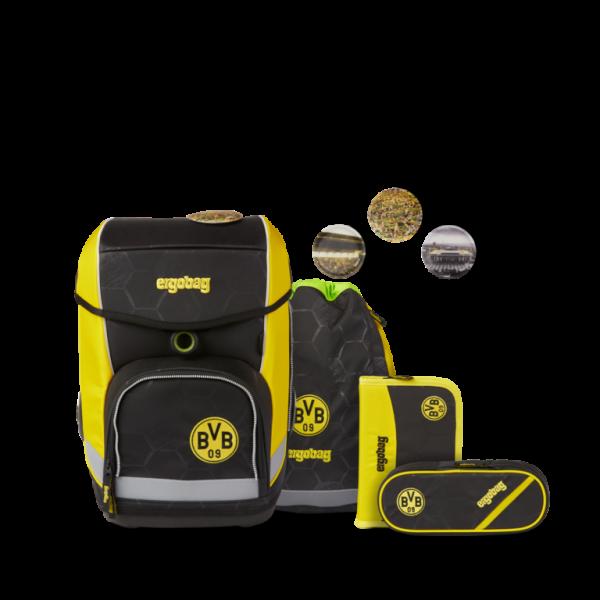 ergobag cubo Schulrucksack-Set Borussia Dortmund