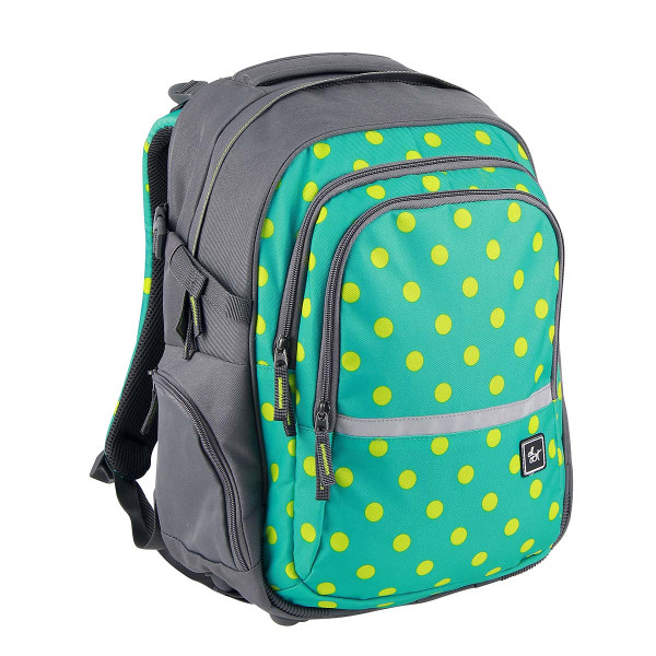 All Out by HAMA Schulrucksack Filby Mint Dots (138551)