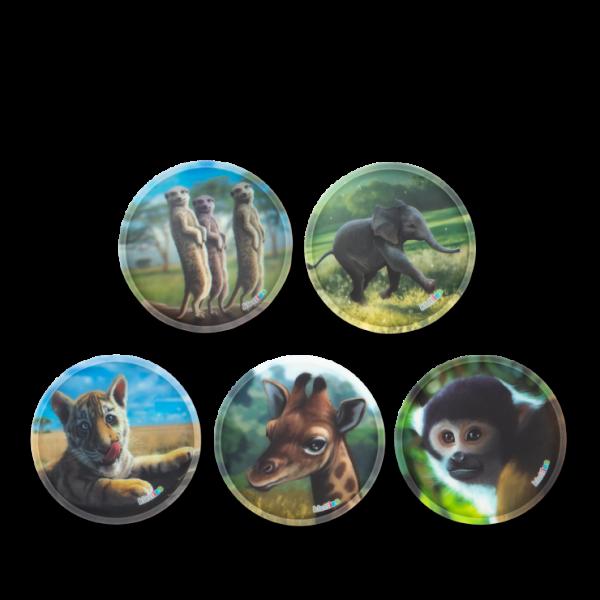 Ergobag Klettie-Set Zoobabies 5 teilig Matt