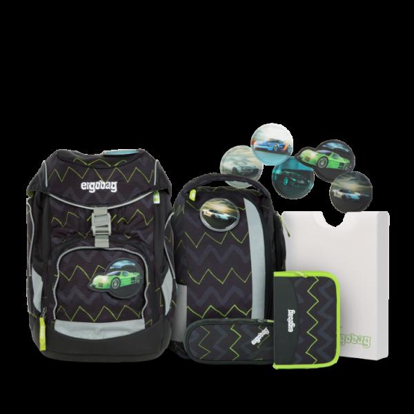 Übersicht Ergobag Pack Schulrucksack-Set Drunter und DrüBär 6-teilig
