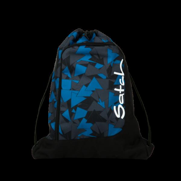 Vorderseite Satch Sportbeutel Blue Triangle
