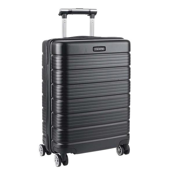 Vorderseite Travelite Soho 4-Rollen Bordtrolley S 55 cm