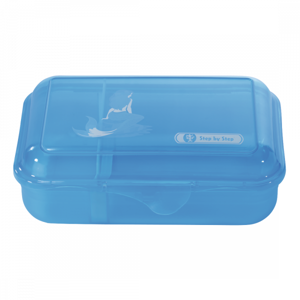 Step by Step Lunchbox Mermaid Blau