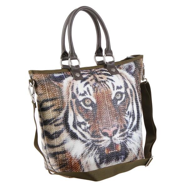 George Gina & Lucy Hopper Handtasche tiger face