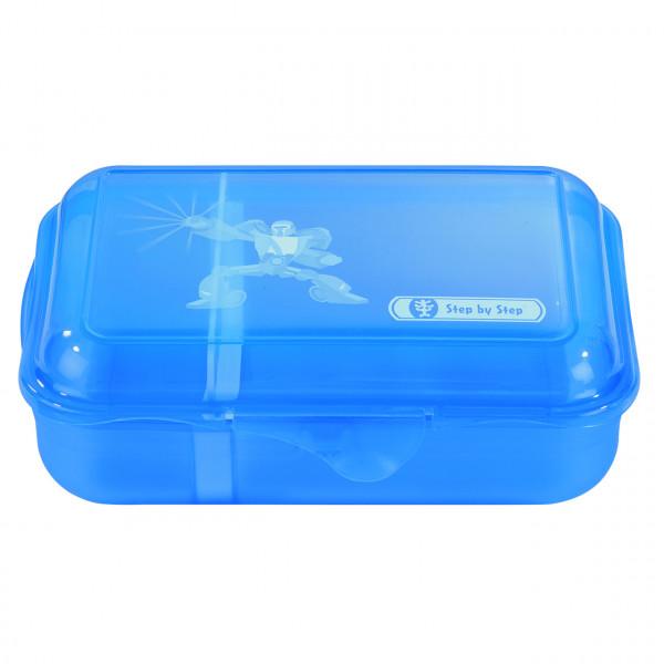 "Step by Step Lunchbox ""Power Robot"", Blau"
