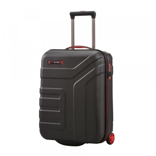 Vorderansicht Travelite Vector 2-Rollen Boardtrolley S 55 cm