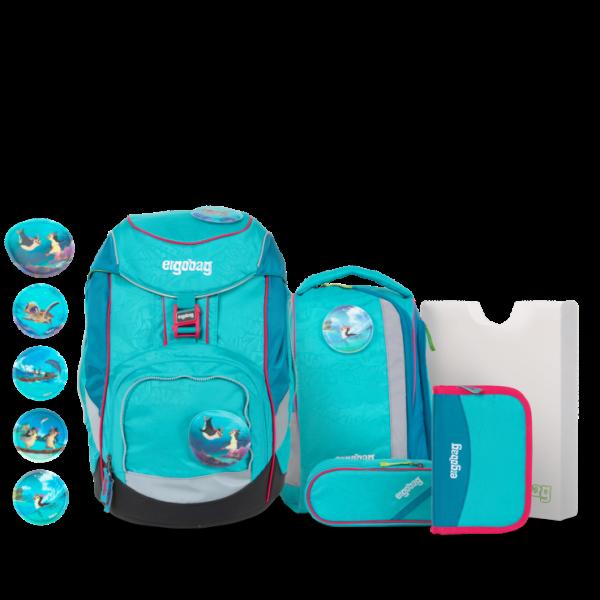 Übersicht Ergobag Pack 6-teiliges Schulrucksack-Set Hula HoopBär