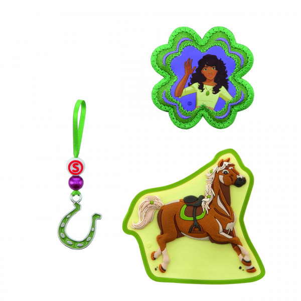 Step by Step Magnetbilder MAGIC MAGS SCHLEICH Set 3-teilig Horse Club, Sarah & Mystery (139246)