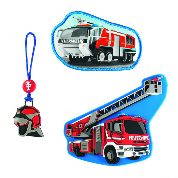 "Step by Step Magnetbilder MAGIC MAGS Set 3-teilig ""Fire Engine"" (139257)"