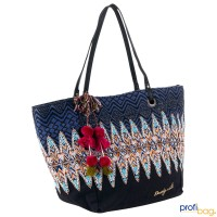 Vroderseite Desigual Shopper Bag Capazo Uma