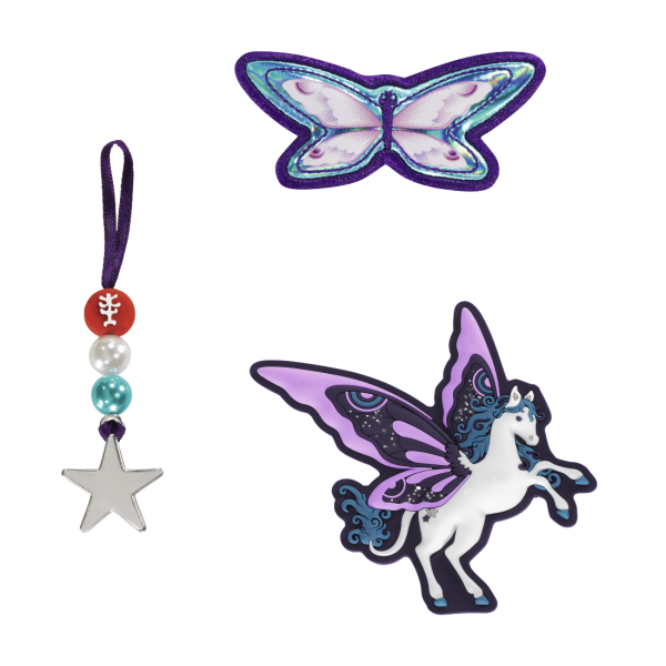 "Übersicht Step by Step Magnetbilder MAGIC MAGS Set 3-teilig ""Pegasus Dream"""
