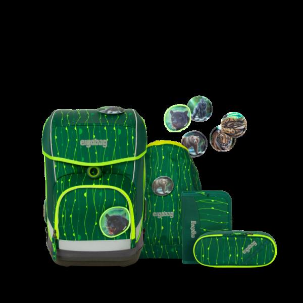 Übersicht Ergobag Cubo Light Schulranzen-Set RambazamBär 5-teilig