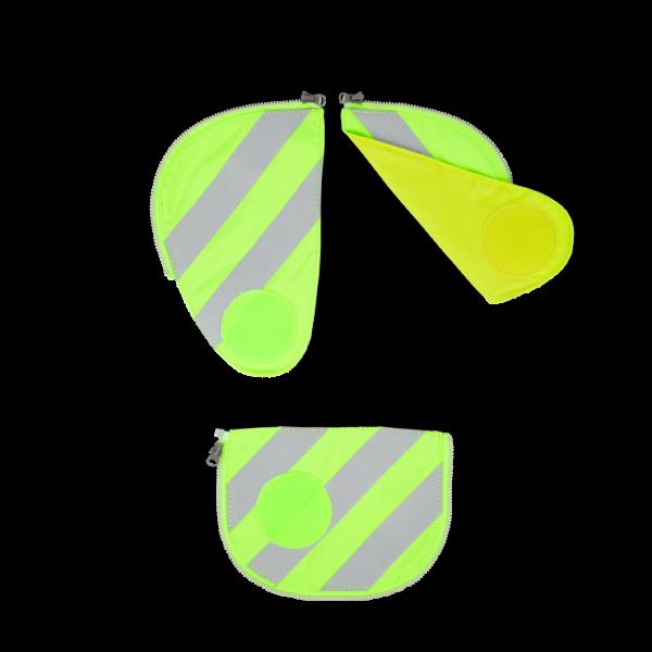 Übersicht Ergobag Pack Sicherheitsset mit Reflektorstreifen Grün 3-teilig