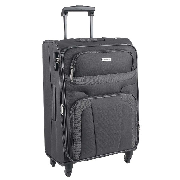 Pilotenkoffer & Trolleys Büro & Schreibwaren Travelite Madrid 4-rad Trolley M 67 Cm