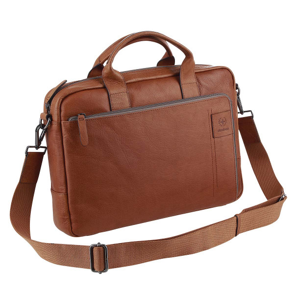 Vorderansicht Strellson Business-Tasche Briefbag Hyde Park SHZ 1