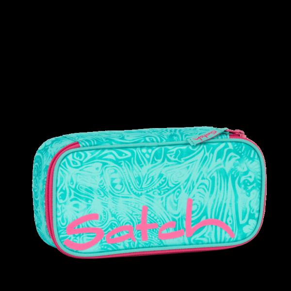 Vorderansicht Satch Schlamperbox Aloha Mint