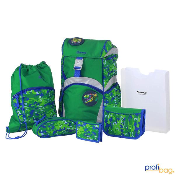 Gesamtansicht Sammies Ergonomic Backpack Schulranzen-Set 6 teilig