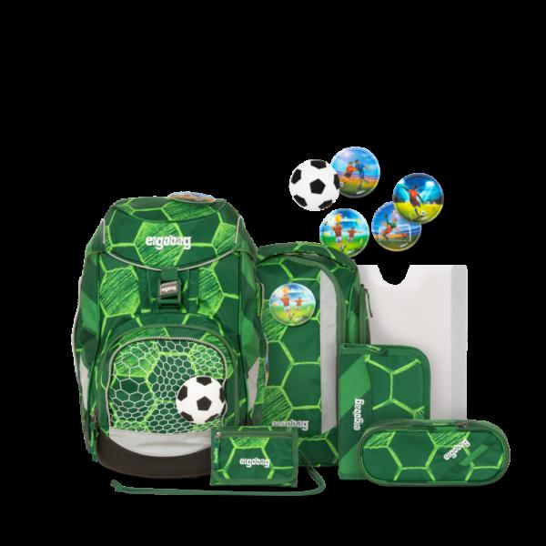 Übersicht Ergobag Pack 7-teiliges Schulrucksack-Set ECO HERO Edition ElfmetBär