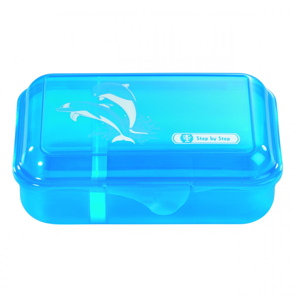 Step by Step Lunchbox Happy Dolphins Türkis