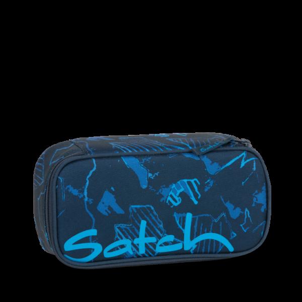 Vorderseite Satch Schlamperbox Blue Compass