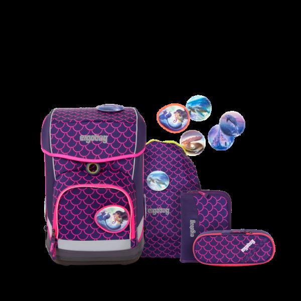 Übersicht Ergobag Cubo Light Schulranzen-Set PerlentauchBär 5-teilig