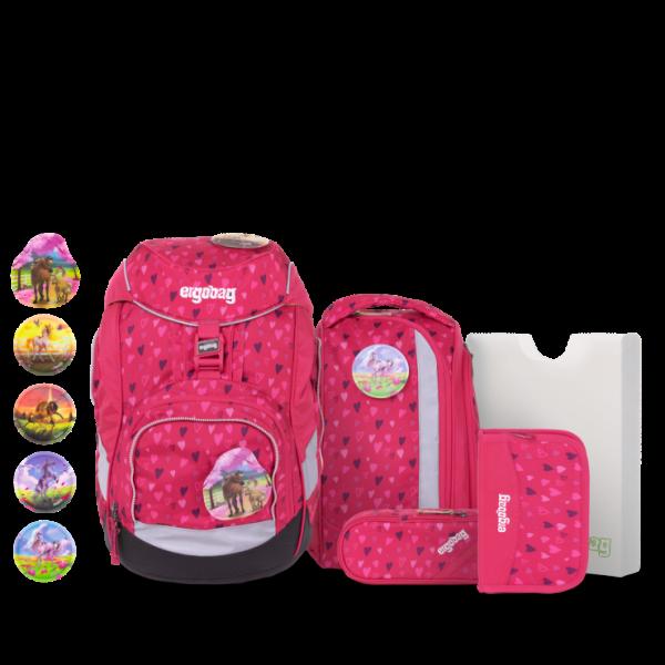 Übersicht Ergobag Pack 6-teiliges Schulrucksack-Set HufBäreisen