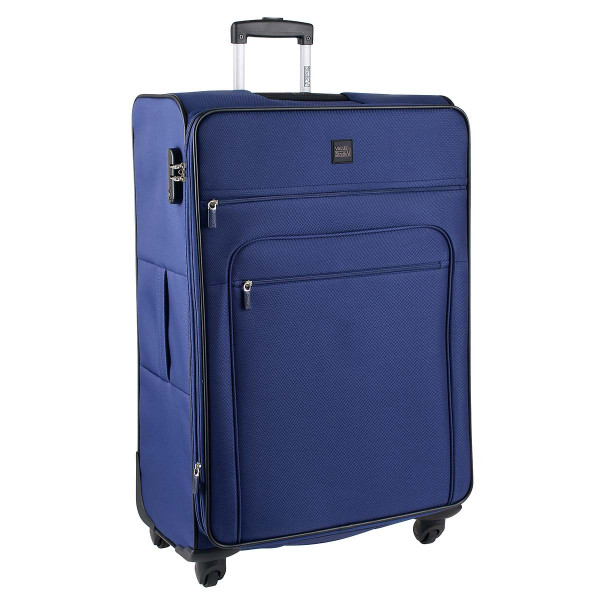 Vorderseite Stratic Value by Stratic Top 4-Rollen Trolley L 75 cm navy blue