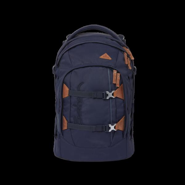Vorderansicht Satch Pack Schulrucksack Nordic Blue