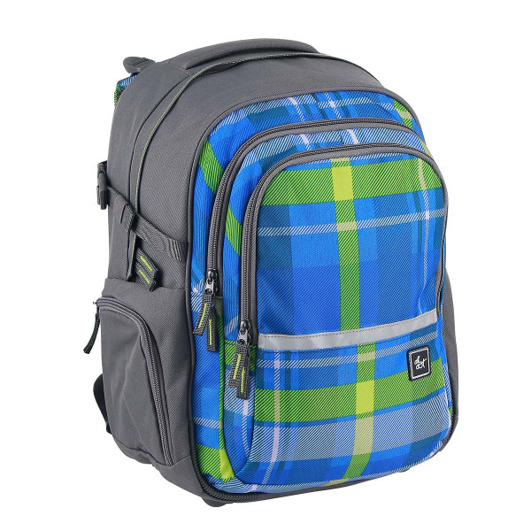 All Out by HAMA Schulrucksack Filby Woody Blue (138546)