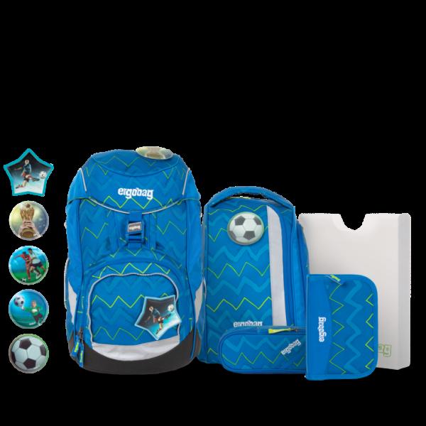 Übersicht Ergobag Pack 6-teiliges Schulrucksack-Set LiBäro 2:0