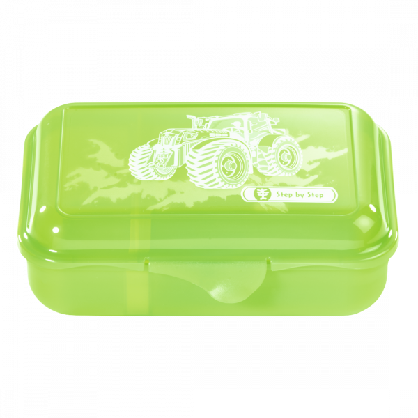 Step by Step Lunchbox Green Tractor Grün