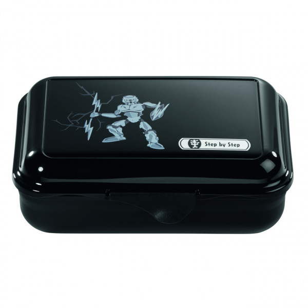 Step by Step Lunchbox Strongly Robot Schwarz