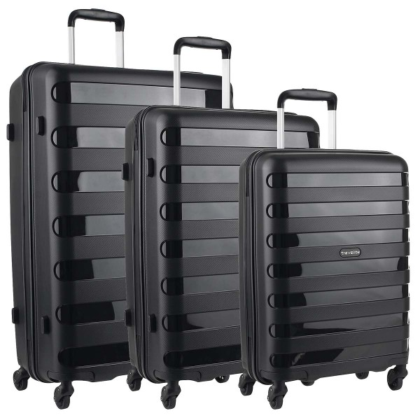 Travelite Nova 4-Rollen Trolley Set 3-teilig