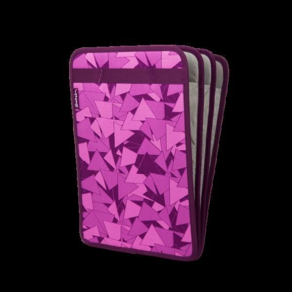 Vorderseite Satch Heftebox TripleFlex Purple