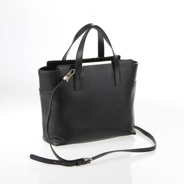 Coccinelle RV-Tasche Leder Schwarz