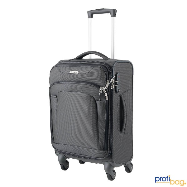 Vorderansicht Samsonite New Spark Spinner Trolley 55 cm