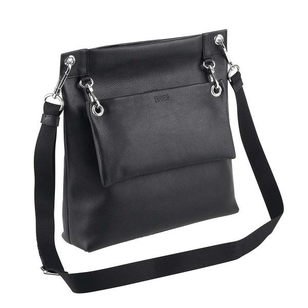 Vorderansicht Bree Special Kaana 7 Umhängetasche Shoulder Bag Black