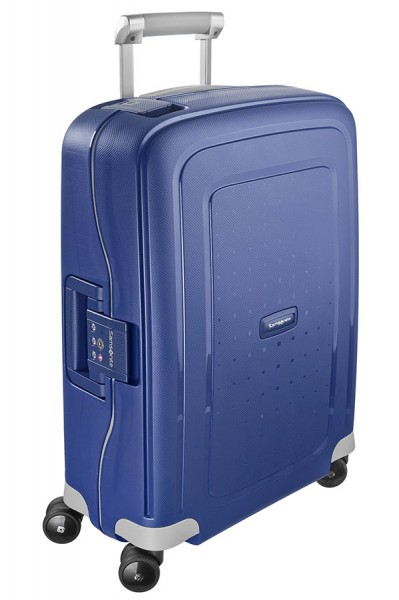 Vorderseite Samsonite S'Cure Spinner Hartschalentrolley 55cm