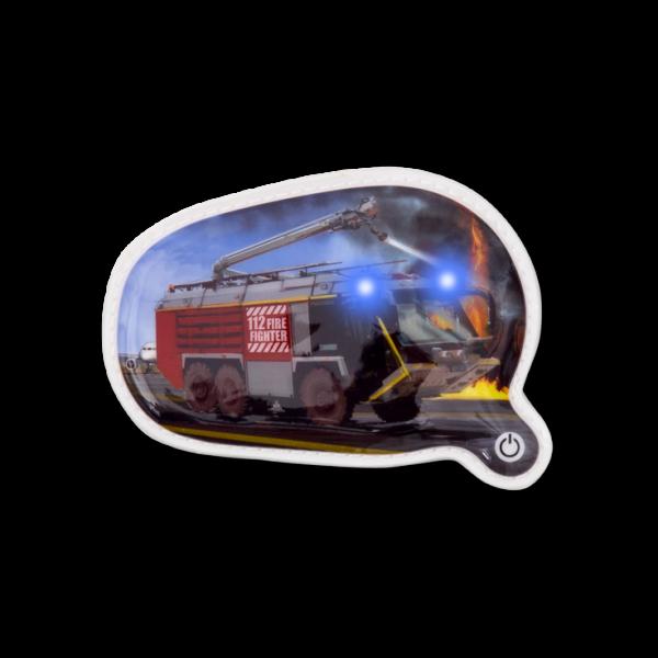 Ergobag Blinkie-Klettie Feuerwehr