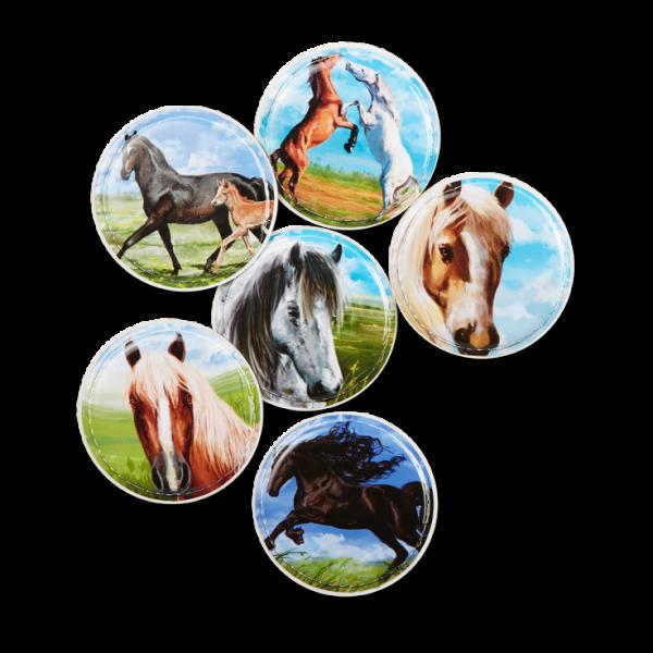 Ergobag Klettie-Set Pferde 6-tlg.