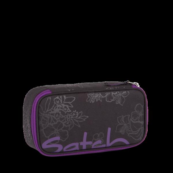 Vorderseite Satch Schlamperbox Purple Hibiscus