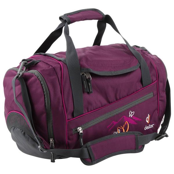 Vorderansicht der Deuter Hopper Sporttasche in Lila