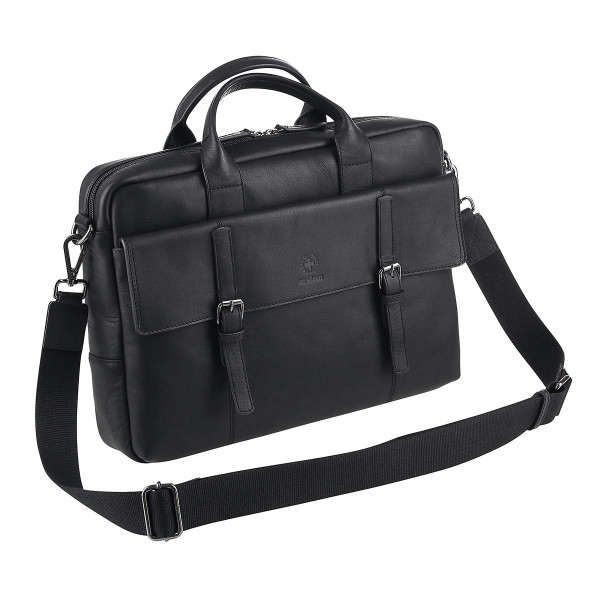 Vorderansicht Strellson Umhängetasche Briefbag Blackwall SHZ