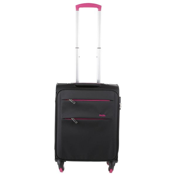 Rada T12-S Reisekoffer 4-Rollen-Trolley Spinner De Light 55 cm