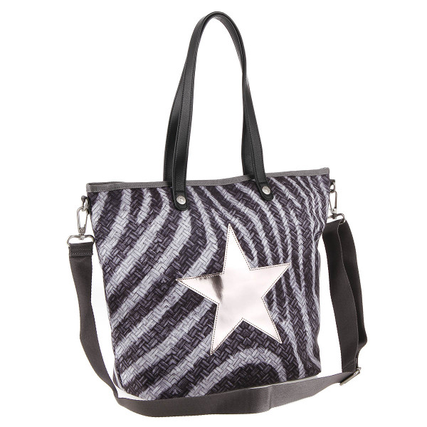 George Gina & Lucy Andle Handtasche Shopping Bag the zebrafari