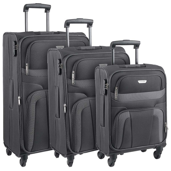 Travelite Orlando 4-Rad Trolley Set 3-teilig