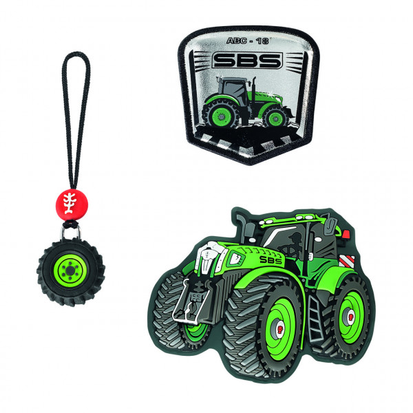 """Step by Step Magnetbilder MAGIC MAGS Set 3-teilig """"Green Tractor"""" (139013)"""