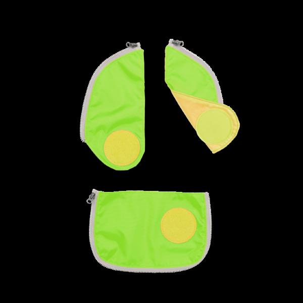 Übersicht Ergobag Cubo Sicherheitsset Grün 3-teilig