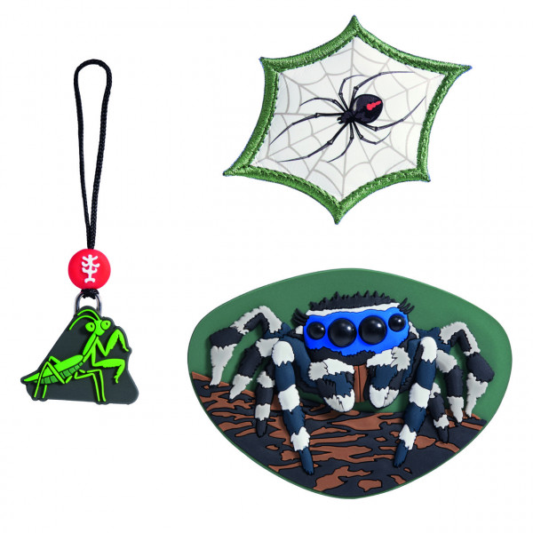 """Step by Step Magnetbilder MAGIC MAGS Set 3-teilig """"Jumping Spider"""" (183807)"""