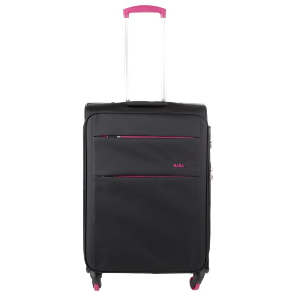 Rada T12-S Reisekoffer 4-Rollen-Trolley Spinner De Light 65 cm